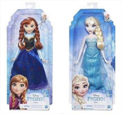 Muñeca princesa ana y elsa frozen disney hasbro original