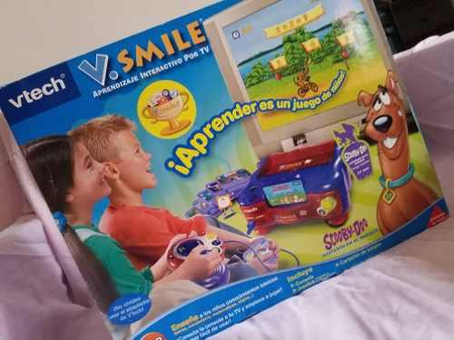 Vtech v.smile sistema de aprendizaje para tv