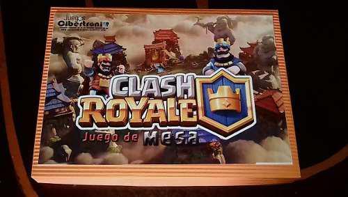 Clash royale, juego de mesa