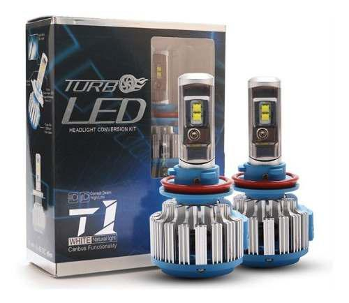 Luces turbo led t1 h4 calidad y garantia.