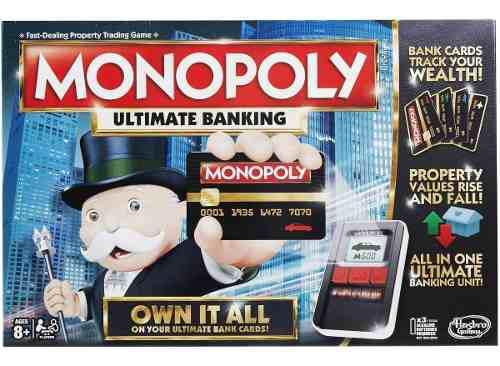 Monopolio banco electronico monopoly juegos de mesa original