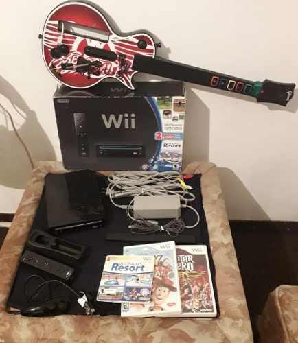Nintendo wii original con juegos accesorios lea descripcion