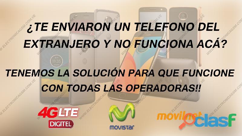 Servicio de liberación para todo tipo de telefono, tablet y modems.