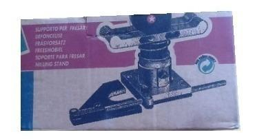 Base trompo fresador para carpintería + regalo pvp 10 vrd