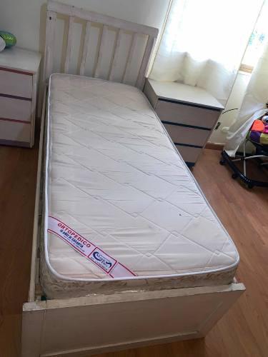 Cuna convertible cama cuna medidas 1.90x80 cm