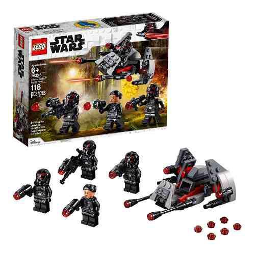 Lego 75226 star wars inferno squad kit de construcción 118p