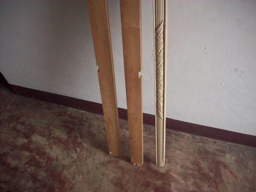 Listón de madera para carpintería