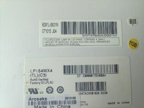 Pantalla lcd lg laptop compaq cq50 15.4 lp154wx4 (tl) (c3)