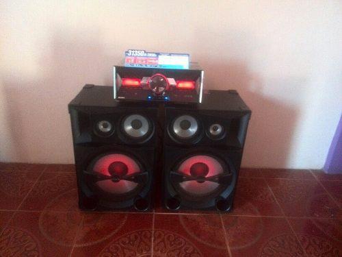 Equipo de sonido sony shake 7 $350