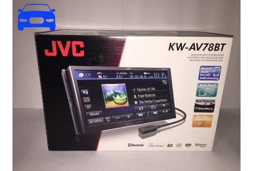 Jvc reproductor de pantalla kw-av78bt + instalación