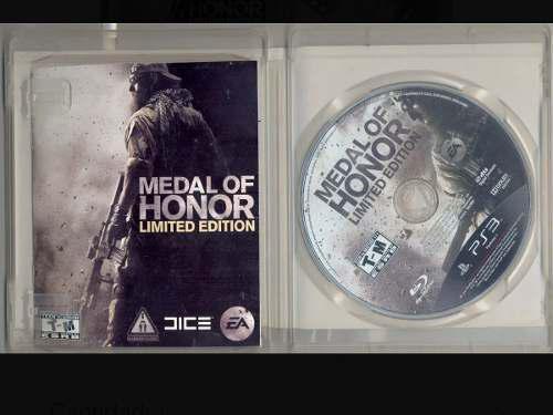 Medal honor edition especial ps3
