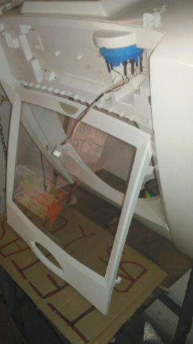 Tapa con vidrio templado lavadora mabe 13 a 15 kilos