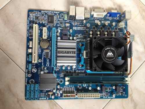 Tarjeta madre gigabyte ga78lmt-s2p ddr3