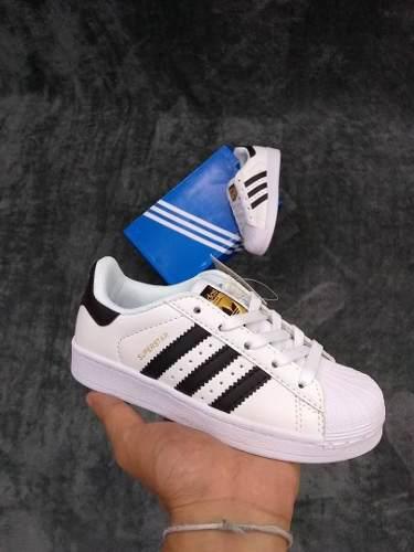 Zapatos adidas all star y super star niños somos tienda