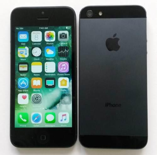 Iphone 5 original 16gb + icloud libre 4g lte