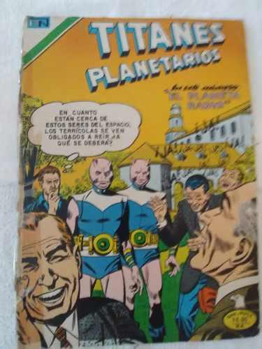 Comic De Ciencia Ficción Titanes Planetarios
