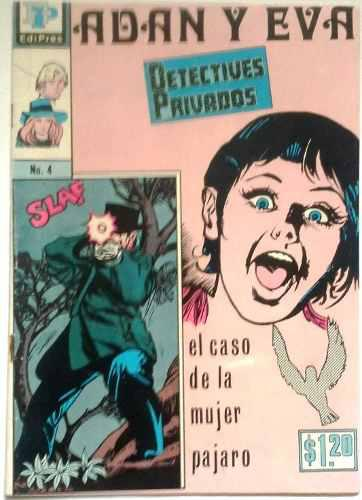 Oferta Suplemento Adán Y Eva N° 4 Mayo 27 1972