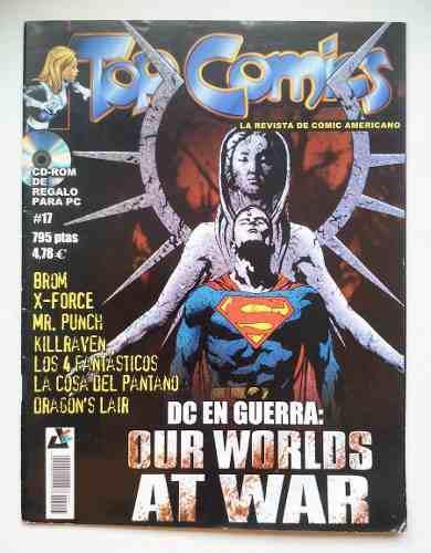 Revista Top Comics 17 Español Fantastic Four Dc