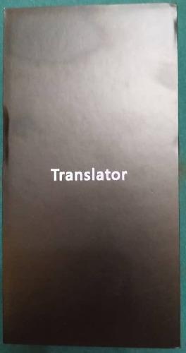 Traductor de voz electrónico