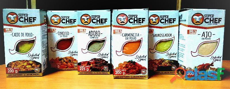 Super chef food y spices te ayuda a emprender tu negocio propio.