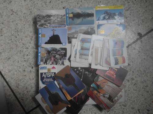 500 tarjetas telefonicas de cantv diferentes