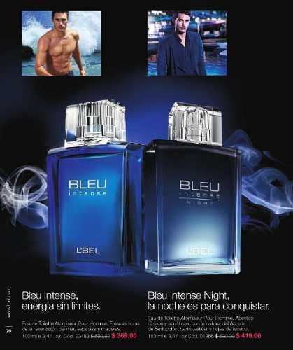 Blue intense- blue intense night, lebe caballero 100ml