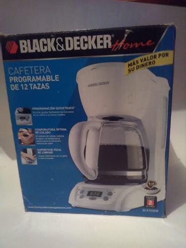 Cafetera programable black and decker dlx 1050w, 12 tazas