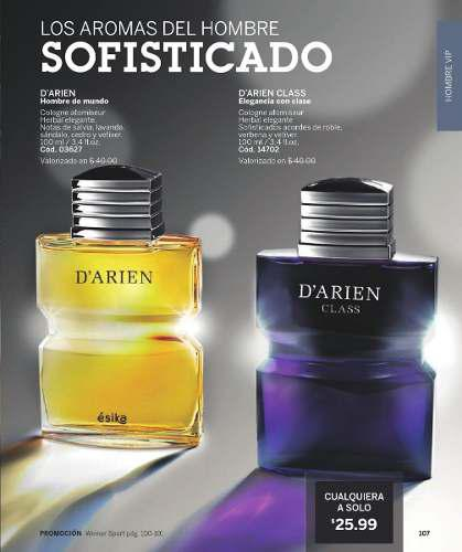 Colonia/perfume d'arien for men, class 100ml, original