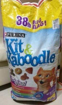 Gatarina Purina Kit & Kaboodle Comida Para Gatos (17.2 Kg)