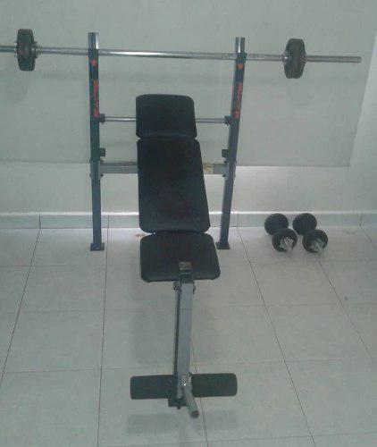Banco de pesas elite fitness