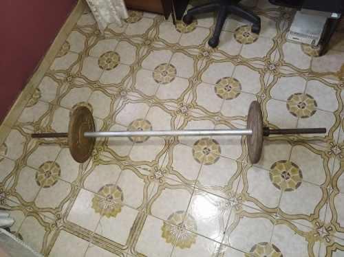 Barra de pesas 20kg