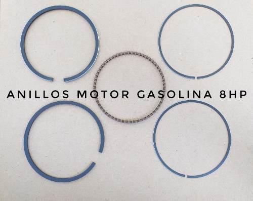 Kit de anillos para motor gasolina gx240 8 hp standard