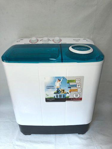 Lavadora semiautomática dobletina 10 kg keyton