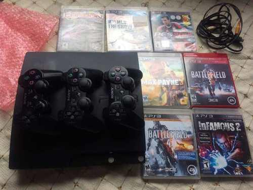 Playstation 3 ps3 modelo slim (juegos) oferta