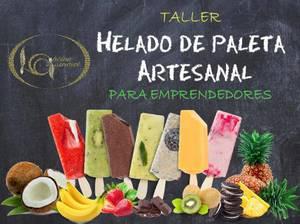 Taller de helado de paleta artesanal para emprendedores
