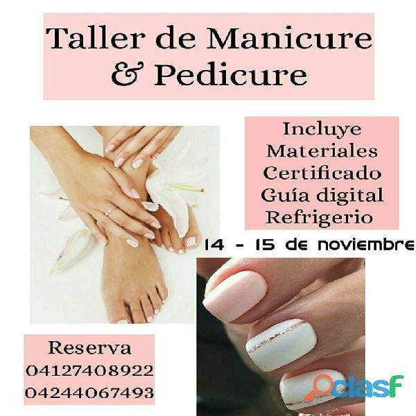 Curso de manicure y pedicure