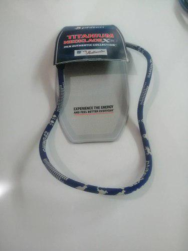 Collar Y Pulsera De Titanium Phiten