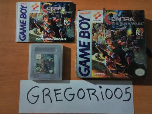 Contra: The Alien Wars, Game Boy, Completo Precio V!