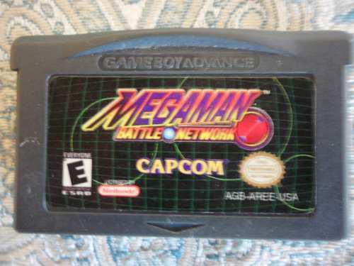 Juego De Game Boy Advance Megaman Battle Network 25v