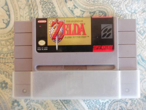 Juego Supernitendo The Legend Of Zelda Impecable 15v