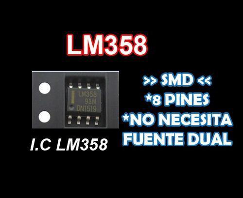 Lm358 Smd | Texas Instruments Precio X Unidad