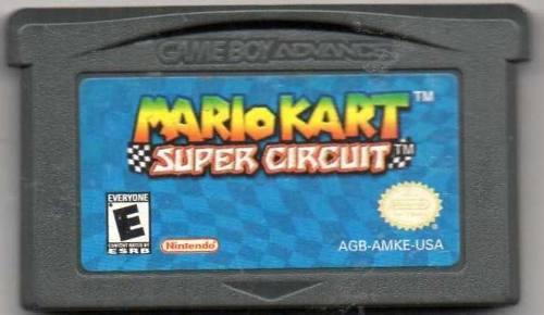 Mario Kart Super Circuit Gameboy Advance. Original Usado Qq8