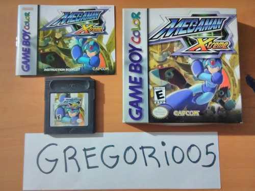 Megaman Xtreme Game Boy, Completo Precio V!