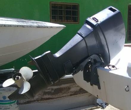 Motor fuera de borda yamaha 48 hp pata larga.