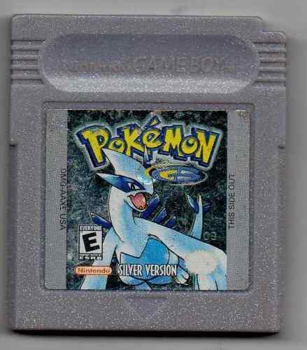 Pokemon Silver Version.juego De Gameboy Original Usado Qq6