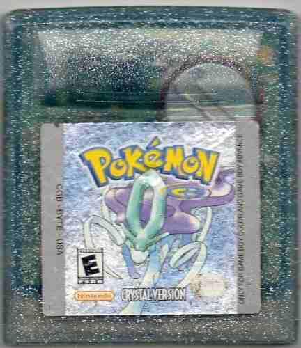 Pokêmon Crystal Version.juego Gameboy Original Usado Qq 30