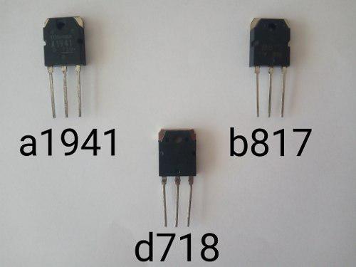 Transistores b817,a1941,d718