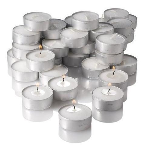 Vela velas flotante flotantes con base caja 12 unidades