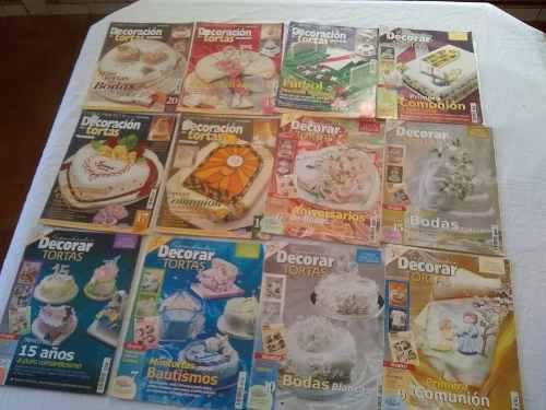 12 revistas con patrones para decorar tortas