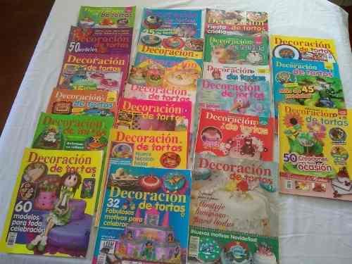 22 libros o revistas decoración de tortas oferta